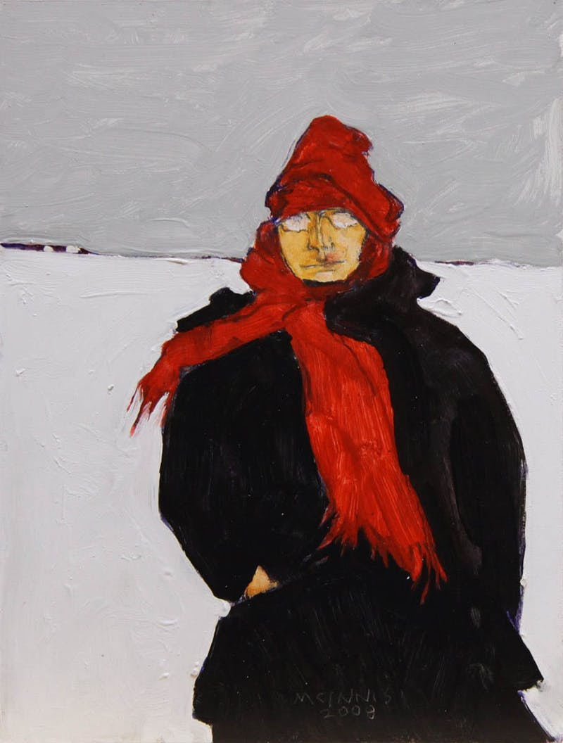 Red Scarf Image 1
