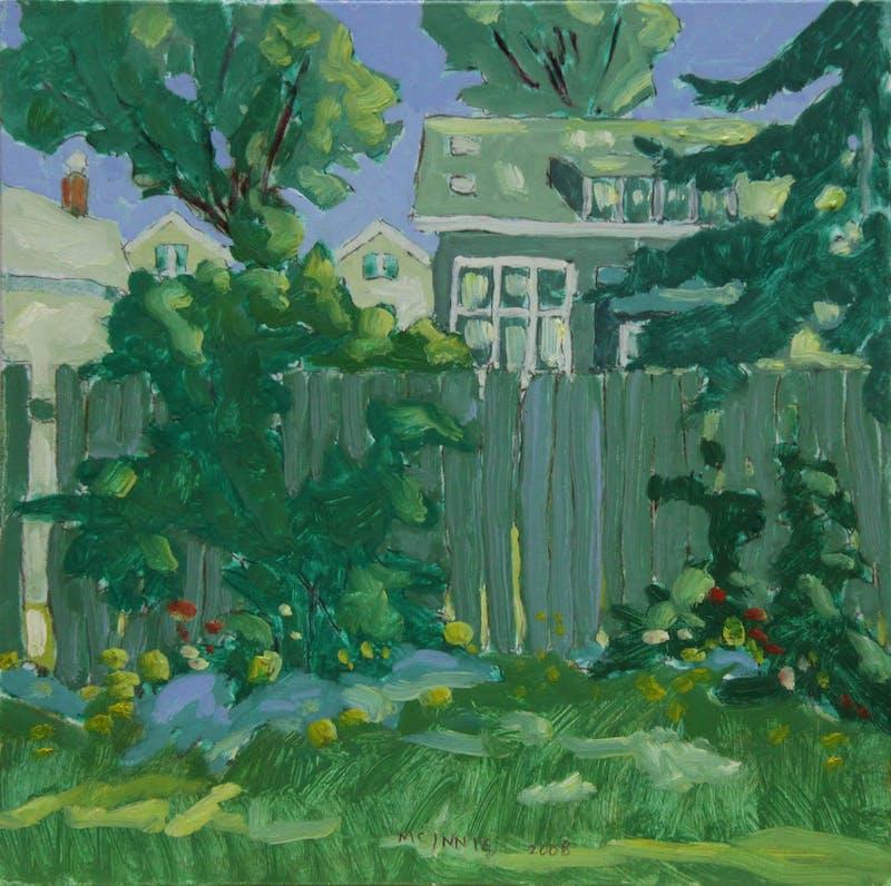 Green House Backyard Image 1