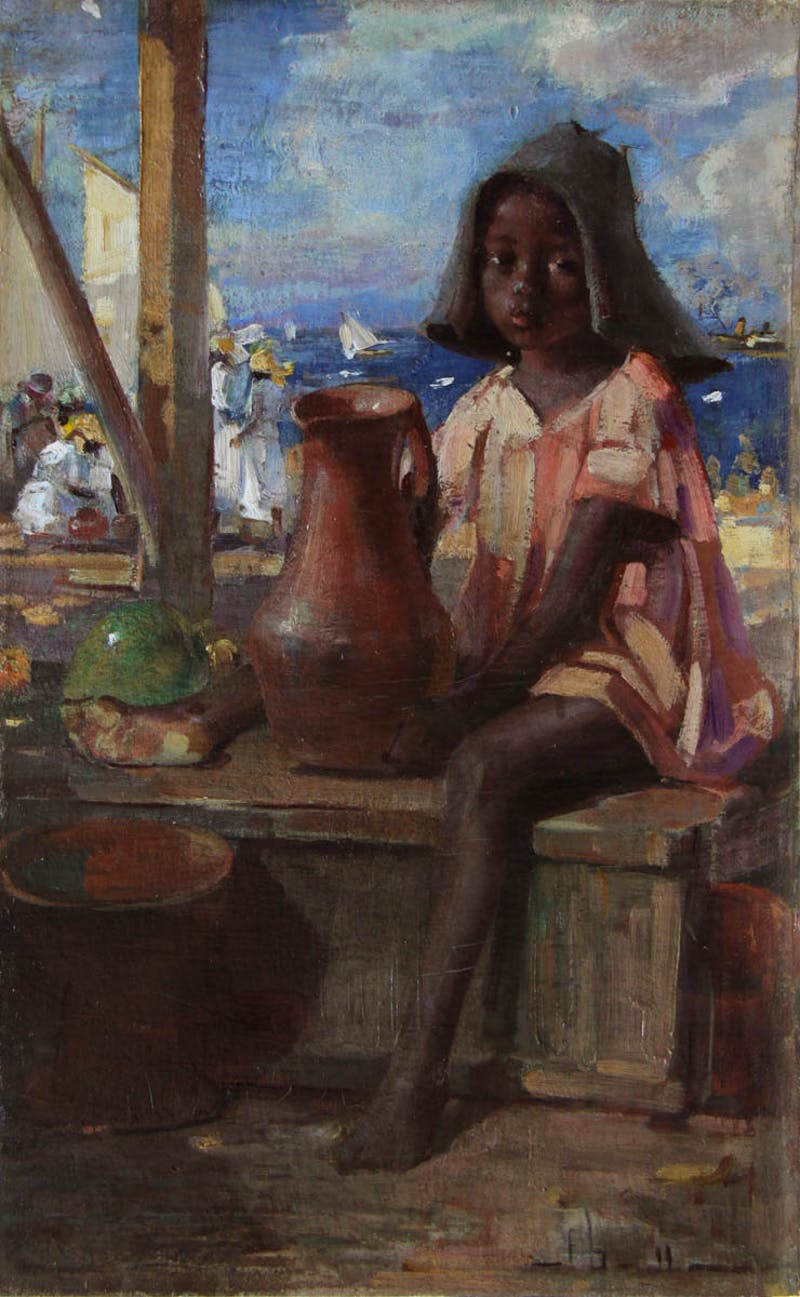 Young Child St. Kitts