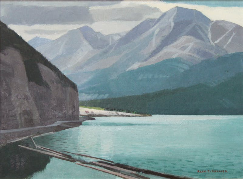 Muncho Lake, B.C. On the Alaskan Highway