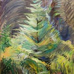 Heart of the Forest by Emily Carr, 1935 oil - (36x24 in)