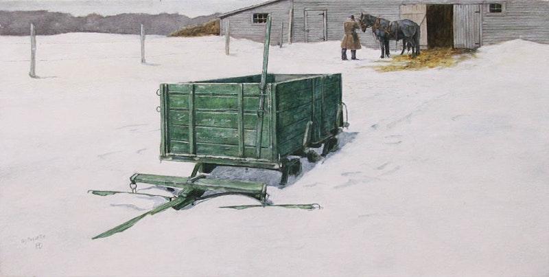 Green Wagon Image 1