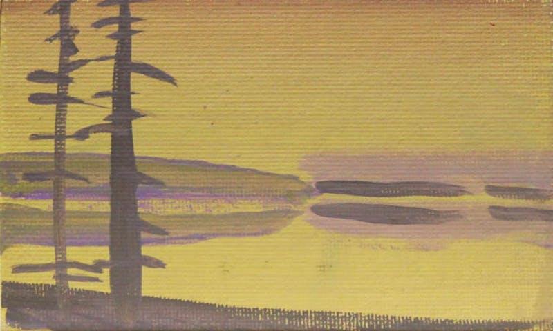 Deep Bay Sketch (Yellow)