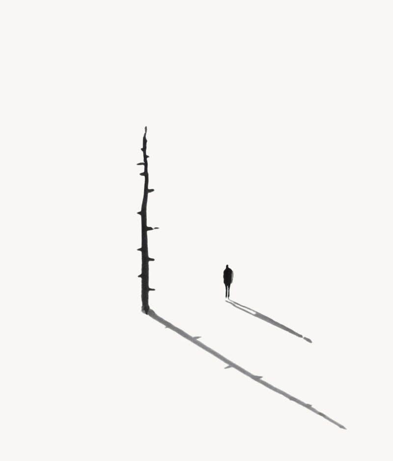 untitled (Tree, Man)