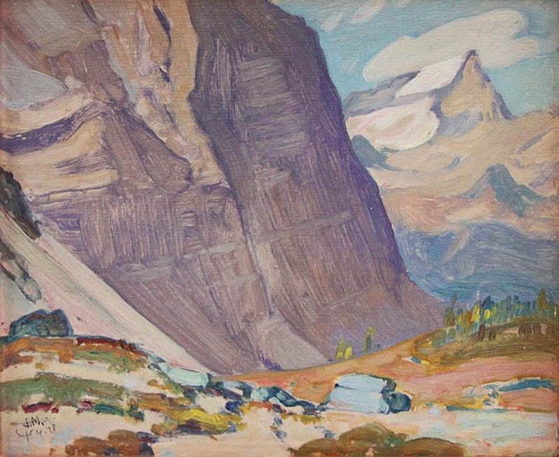 Near Mt Odaray (Rocky Mountains) Image 1