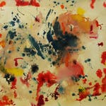 Untitled Abstract by William Ronald, 1969 Watercolour - (18x23.75 in)