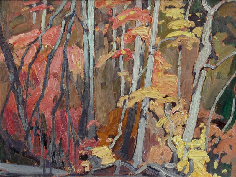 Untitled (Autumn Trees)