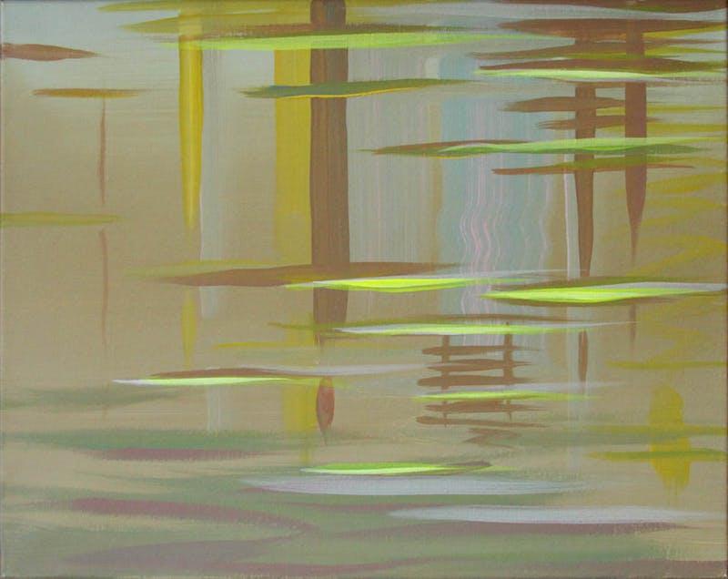 Reflection, Fluorescent Yellow Ochre Image 1