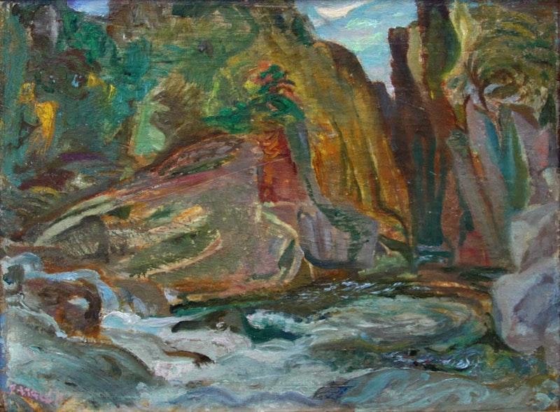 Cheakamus Gorge Near Lynn Valley