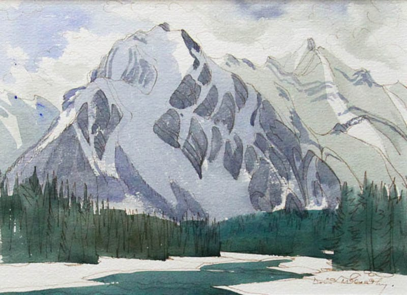 Mountain Above the Whirlpool