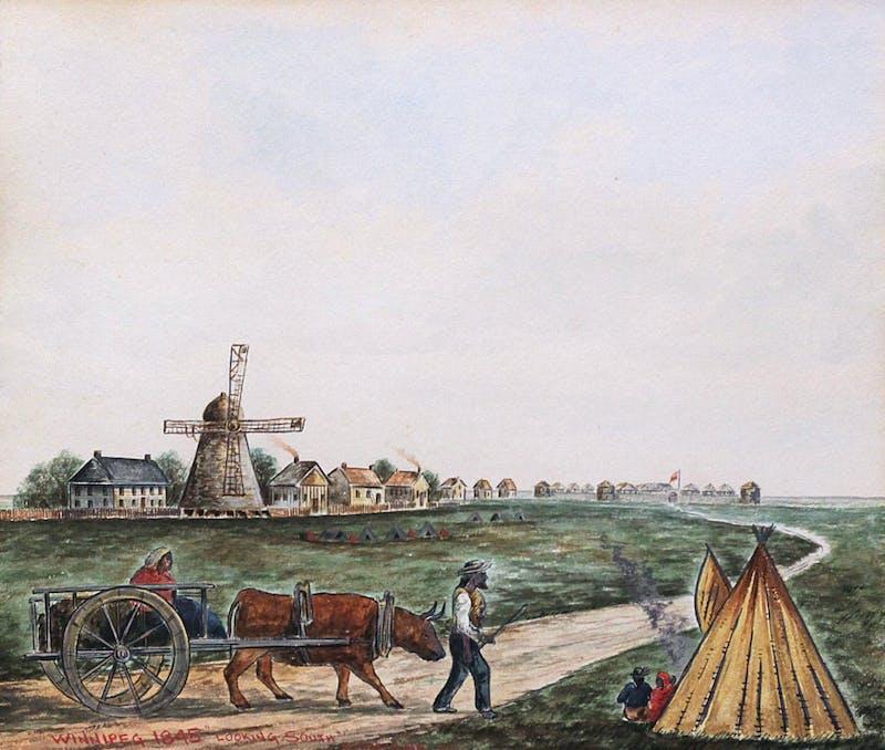 Winnipeg, 1845 (Looking South)