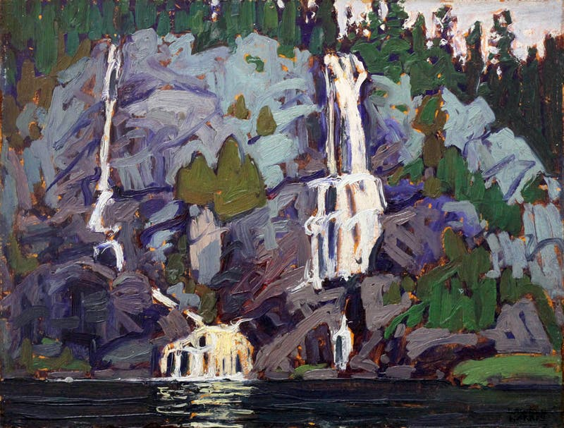 Waterfall, Agawa Canyon Image 1