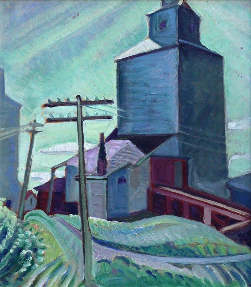 Untitled Grain Elevator Image 1
