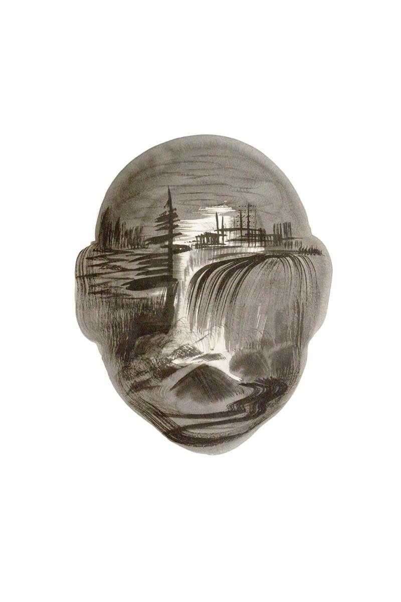Untitled-Landscape Head no6
