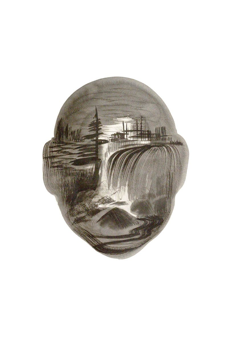 Untitled-Landscape Head no6