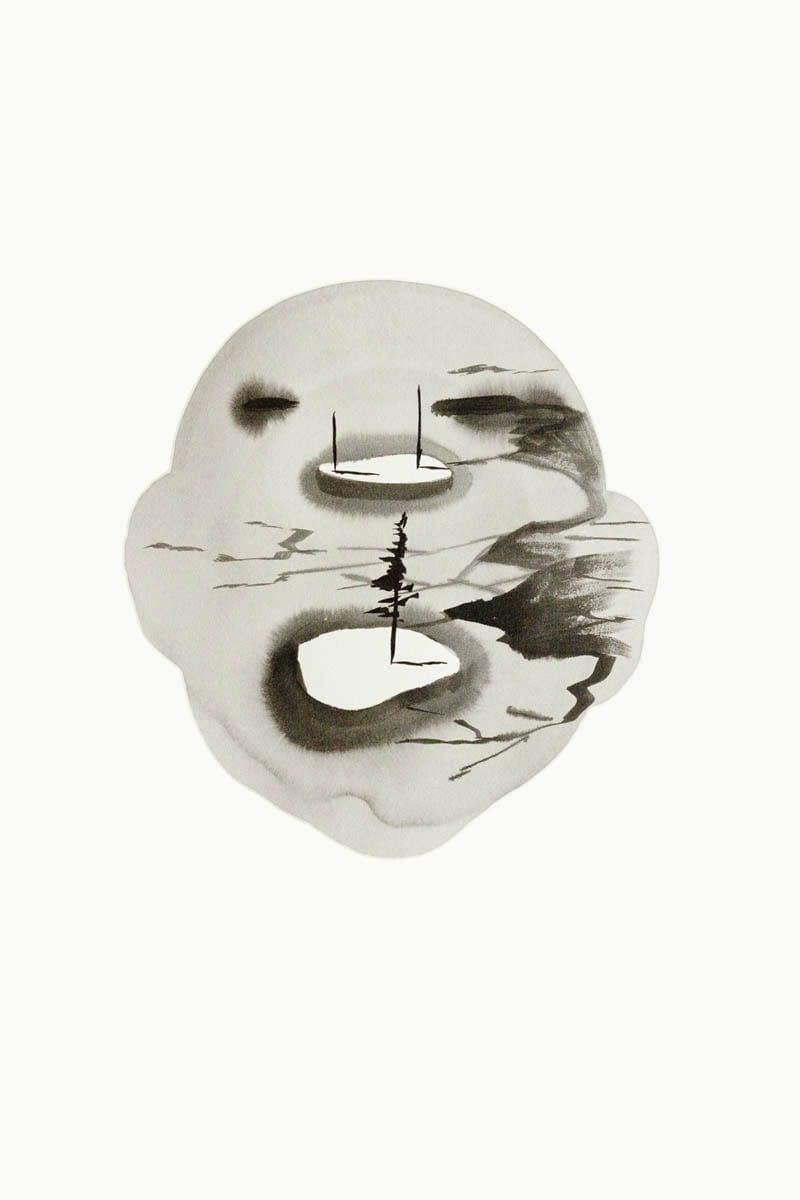 Untitled-Landscape Head no4