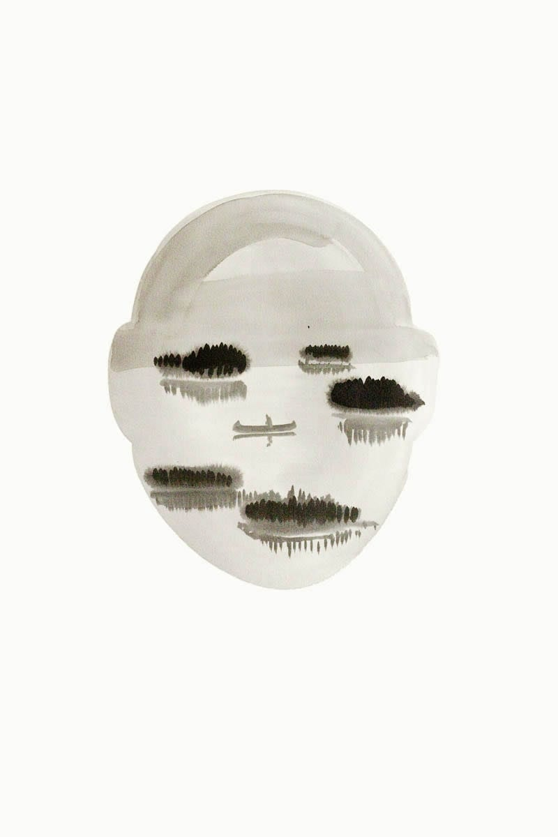Untitled-Landscape Head no2