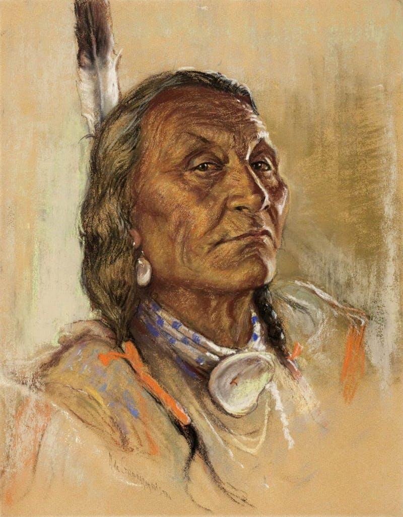 Blood Chief Eagle Plume