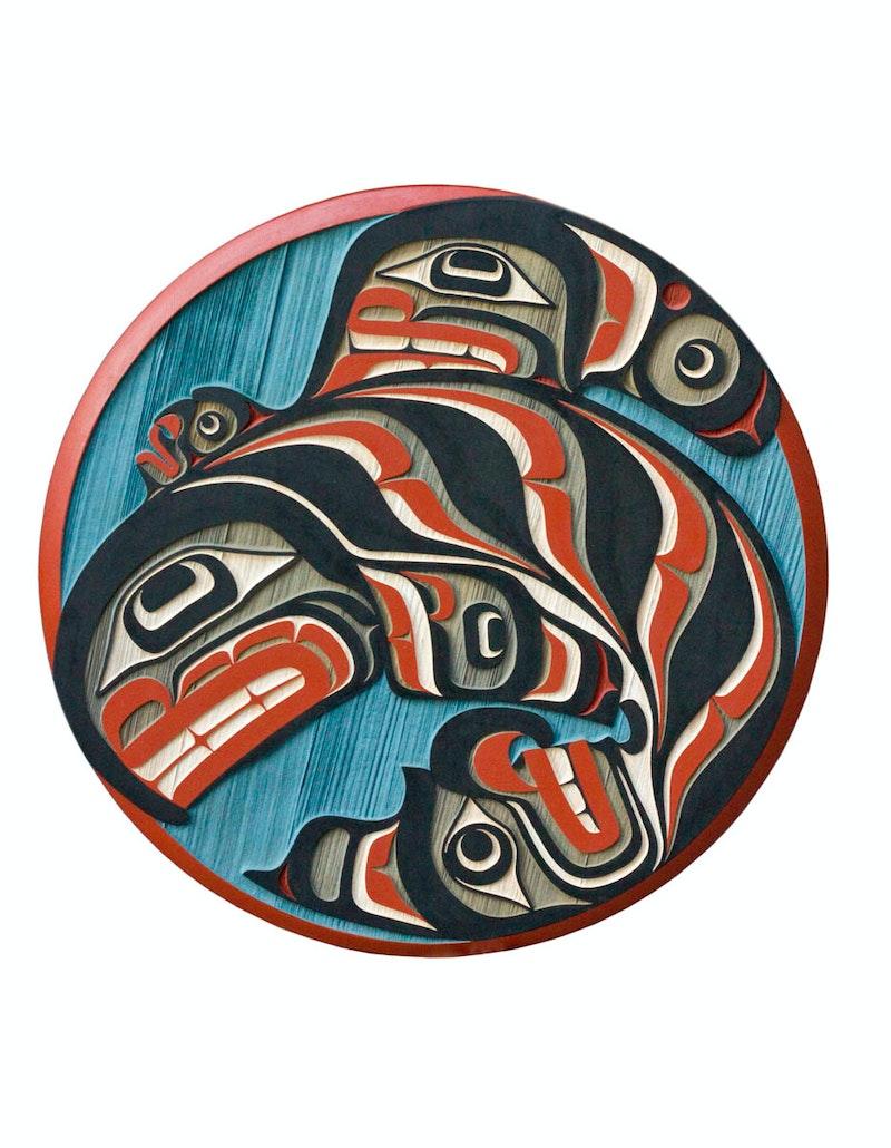 Kwagiulth Divine Orca Image 1