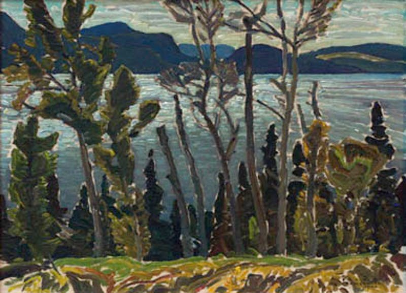 Windy Weather, Lake of Two Rivers, Algonquin Park 1940 Image 1