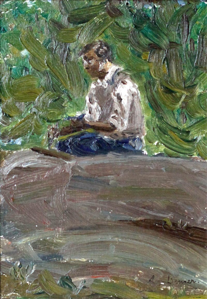 Sketch of Tom Thomson Image 1