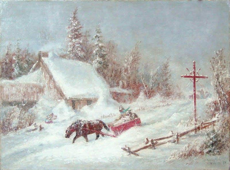 Untitled Winter Sleigh