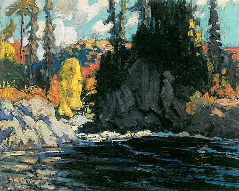Landscape Sketch, Norther ON Image 1