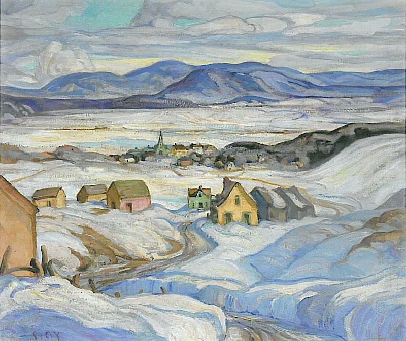 Near Baie St. Paul, Winter Image 1
