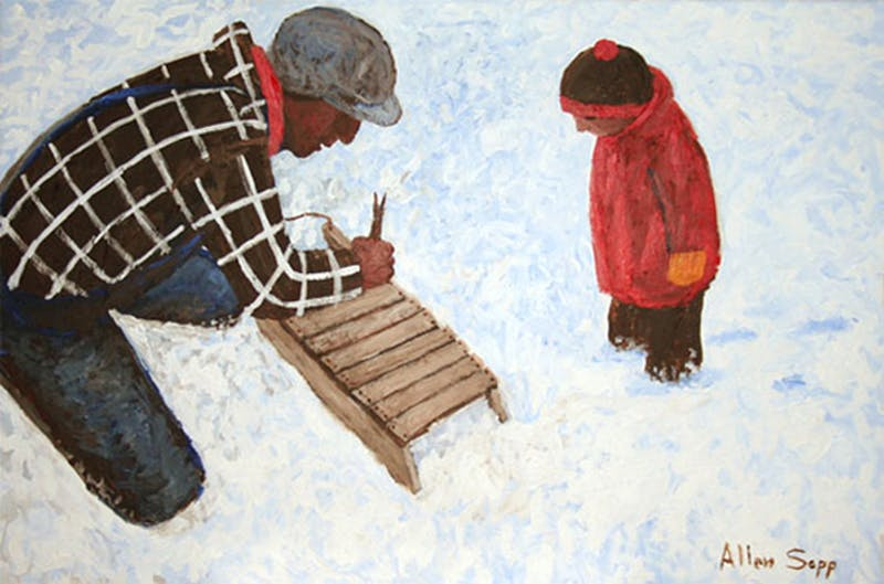 My Dad is Fixing My Sleigh Image 1