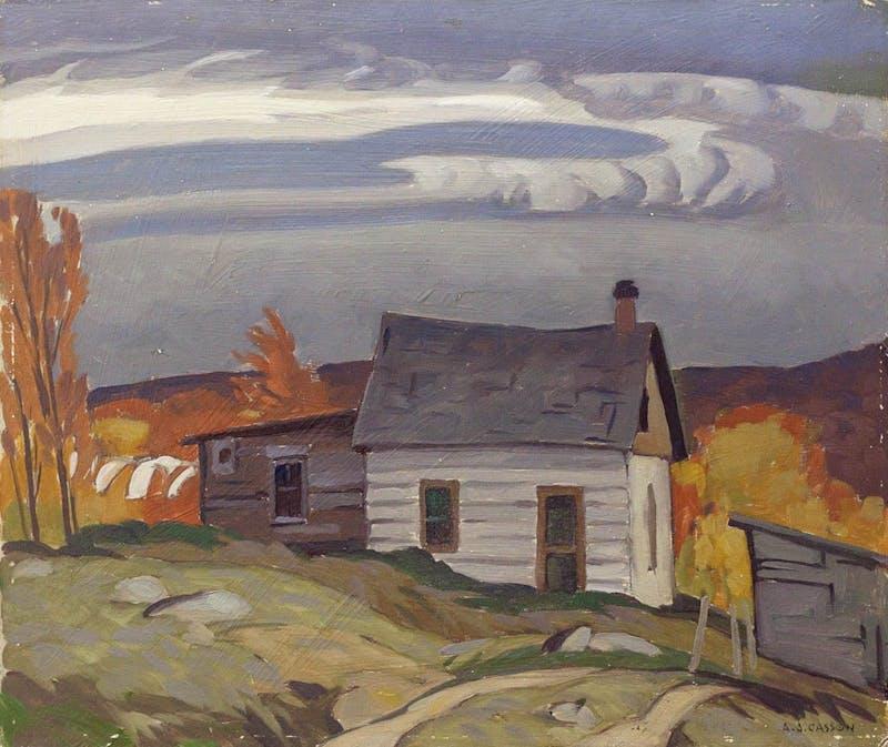 Lumberman's Cabin Near Whitney