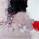 Les Merveilleux Nuages by Marcelle Maltais, 1962 Oil on Canvas - (34x34 in)