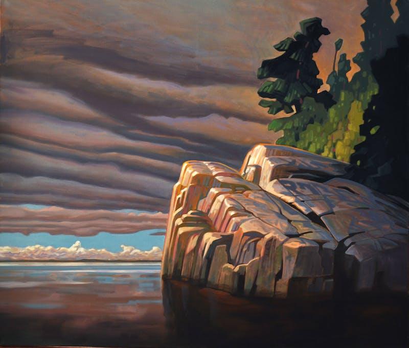 Sunlit Cliffs Image 1