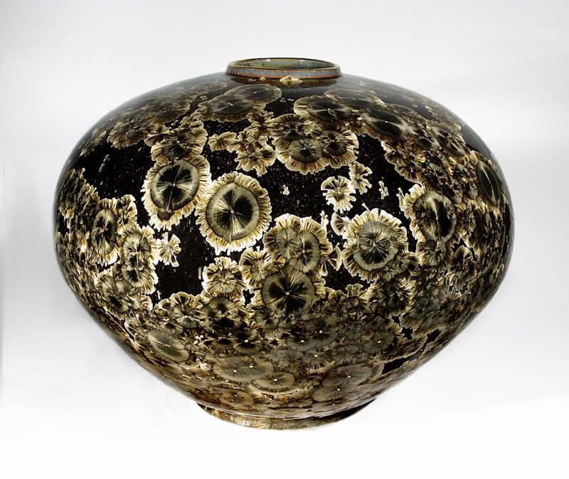 Dark Star Bulb Vase