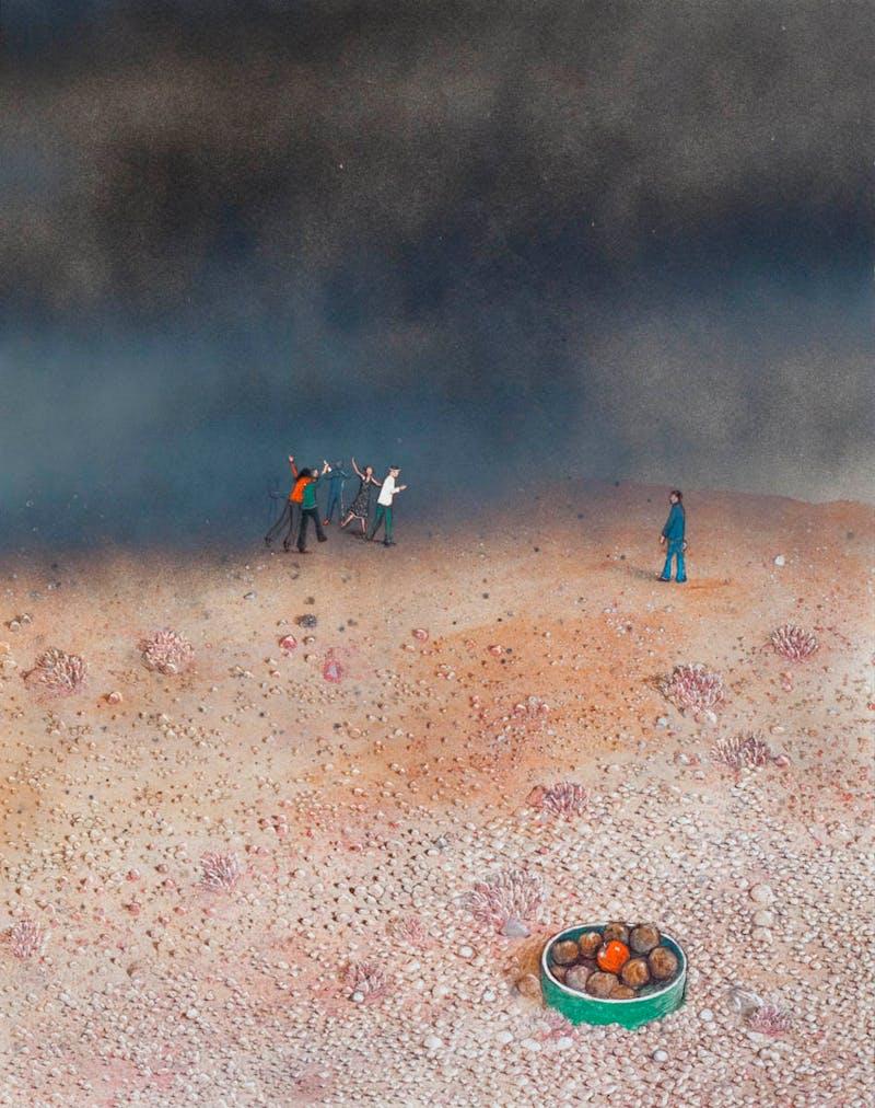 Temptation in the Desert (Bad Companions) Image 1