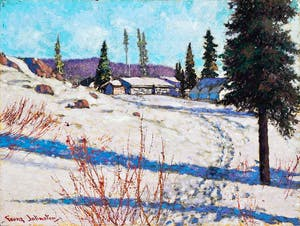 Mining Camp at Great Bear Lake