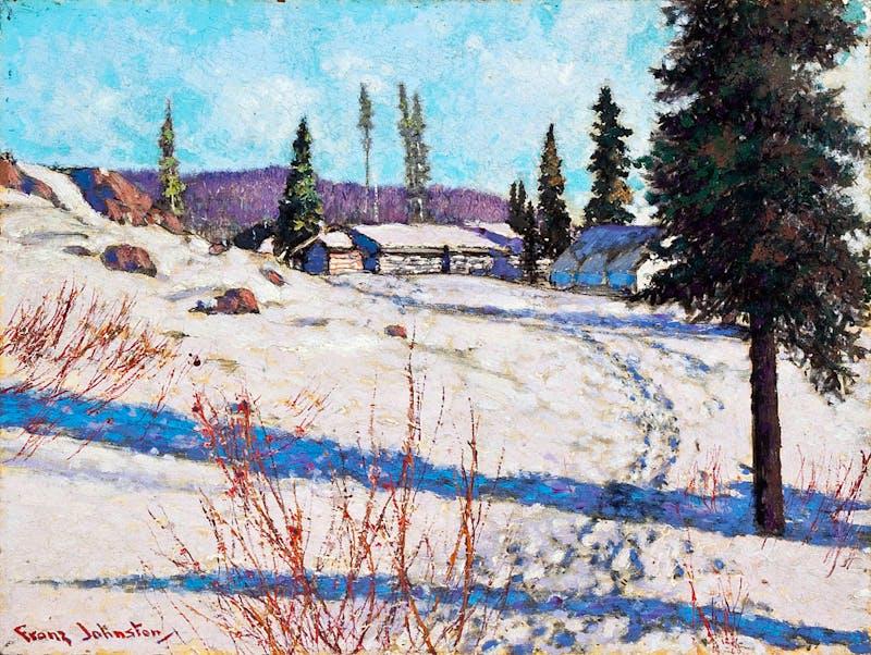 Mining Camp at Great Bear Lake Image 1