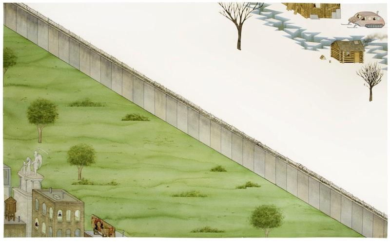 Border Fence Image 1