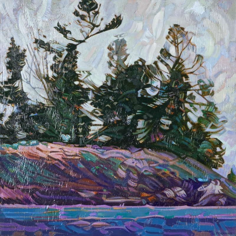 Spring, French River (After Tom Thomson) Image 1