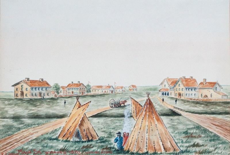 Main Street, Winnipeg 1870, Looking North Image 1