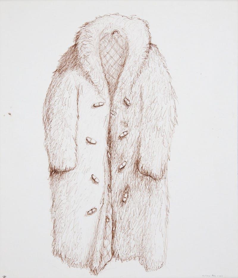 Buffalo Fur Coat Image 1