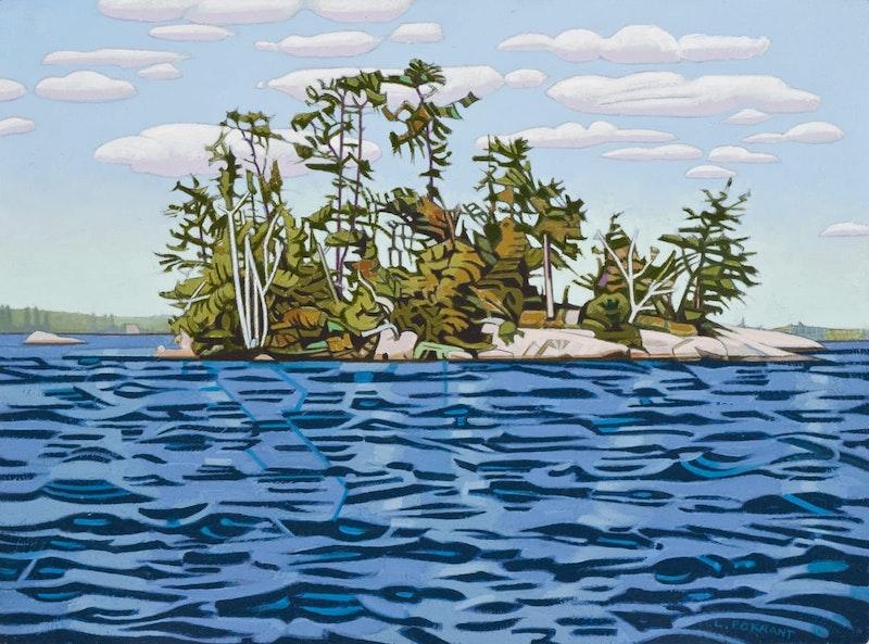 Pirate Island- Echo Lake