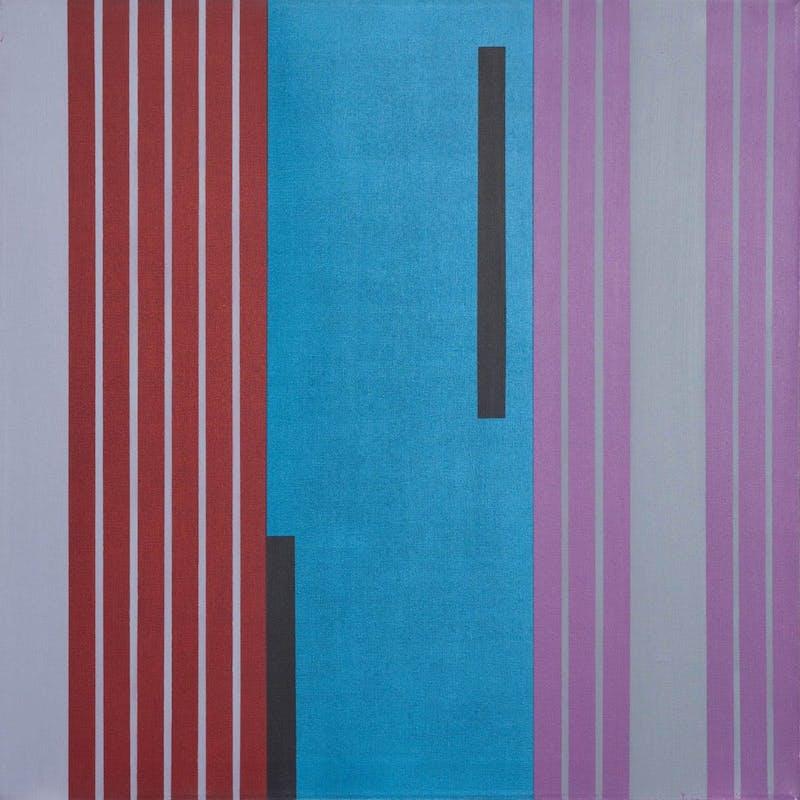 Composition 73105 (red, blue, violet)