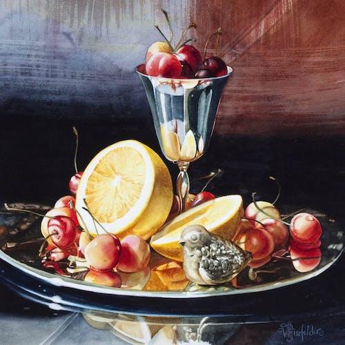 Goblet by Vivian Thierfelder, 2012 Watercolour - (13x13 in)