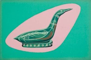 Soapstone Carving of a Loon