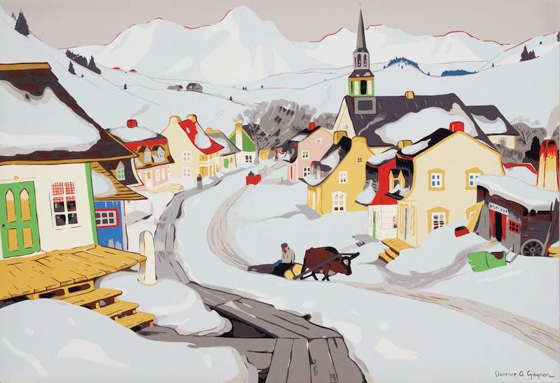 Village in the Laurentians