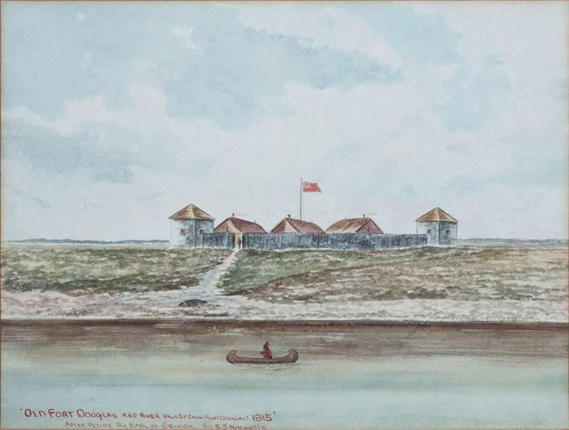 Old Fort Douglas, Red River Valley, 1815 Image 2