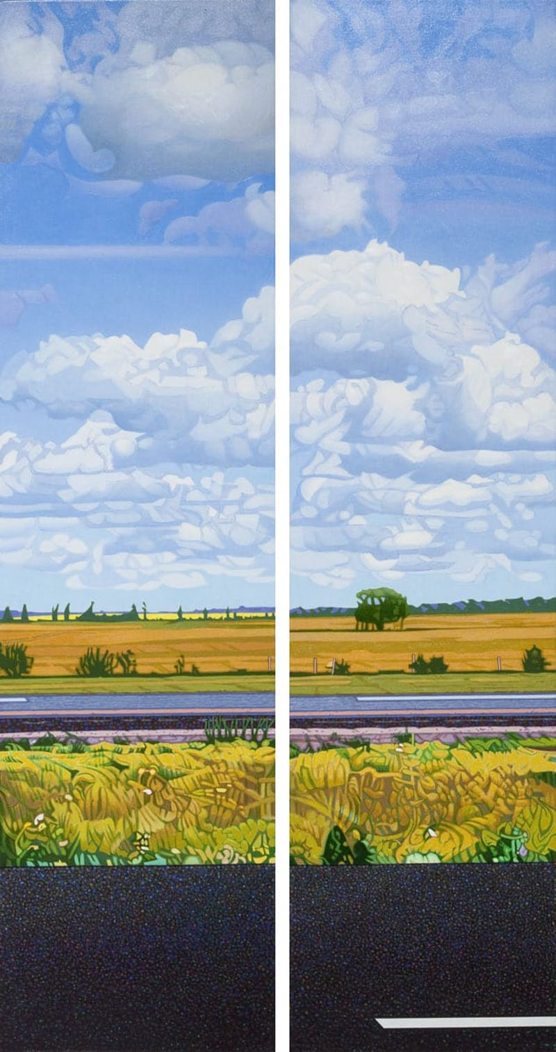 Highway No. 1 East (Diptych) Image 1