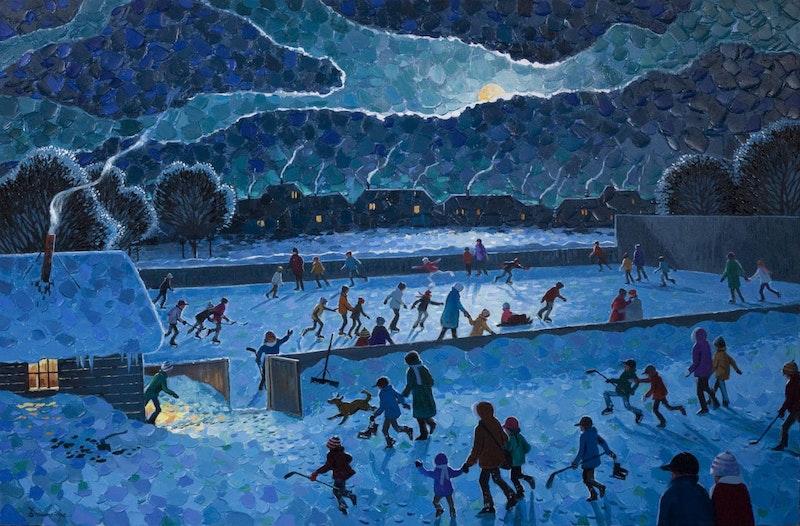 The Joy of Night Skating Image 1