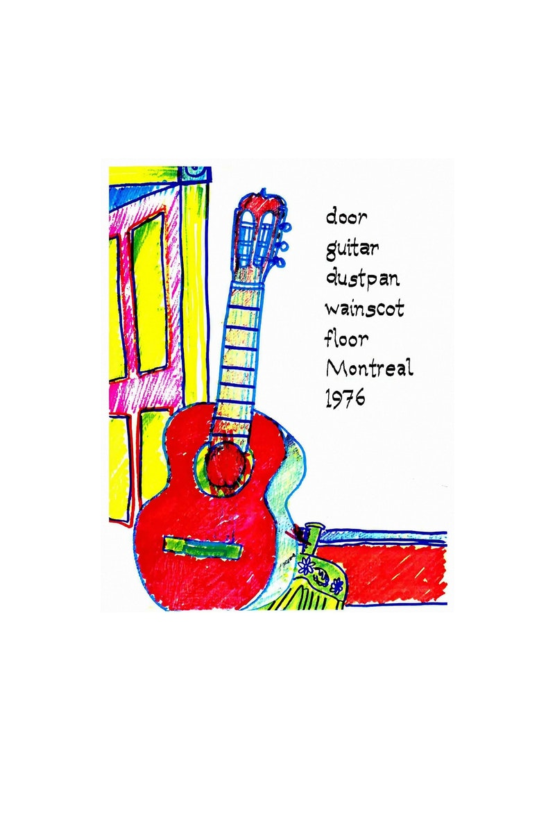 Red Guitar 3/100 Image 1