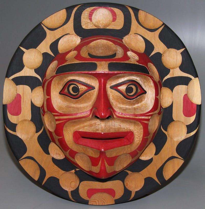 Kwagiulth Moon Mask Image 1